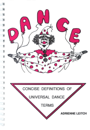 CONCISE DEFINITIONS OF UNIVERSAL DANCE TERMS 4E