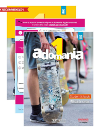 ADOMANIA 1/1A STUDENT PACK ENGLISH VERSION VALUE PACK (TEXTBOOK, WORKBOOK & EBOOK)
