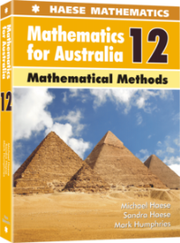 HAESE MATHEMATICS FOR AUSTRALIA 12: MATHEMATICAL METHODS STUDENT BOOK + EBOOK