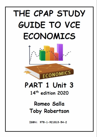 Buy Book - THE CPAP STUDY GUIDE TO VCE ECONOMICS PART 1 ...