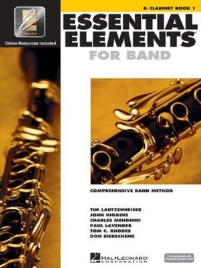 ESSENTIAL ELEMENTS FOR BAND: B FLAT CLARINET BOOK 1