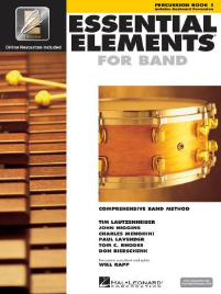 ESSENTIAL ELEMENTS FOR BAND: PERCUSSION BOOK 1