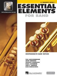 ESSENTIAL ELEMENTS FOR BAND: B FLAT TRUMPET BOOK 1