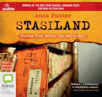 STASILAND: STORIES FROM BEHIND THE BERLIN WALL AUDIO CD