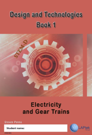 DESIGN & TECHNOLOGIES AC BOOK 1: ELECTRICITY AND GEAR TRAINS EBOOK (Restrictions apply to eBook, read product description)