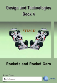 DESIGN & TECHNOLOGIES AC BOOK 4: ROCKETS AND ROCKET CARS EBOOK (Restrictions apply to eBook, read product description)