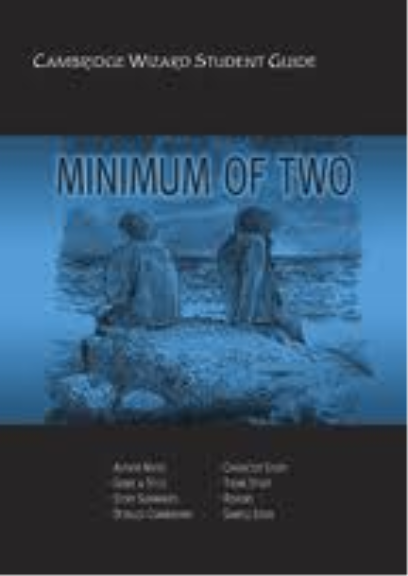 a minimum of two