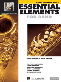 ESSENTIAL ELEMENTS FOR BAND: E ALTO SAXOPHONE BOOK 1