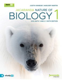 JACARANDA NATURE OF BIOLOGY 1  VCE UNITS 1&2 LEARNON 6E (INCL STUDYON) EBOOK