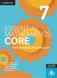 CAMBRIDGE ESSENTIAL MATHEMATICS CORE FOR THE AUSTRALIAN CURRICULUM YEAR 7 EBOOK 3E