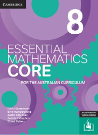 CAMBRIDGE ESSENTIAL MATHEMATICS CORE FOR THE AUSTRALIAN CURRICULUM YEAR 8 EBOOK 3E