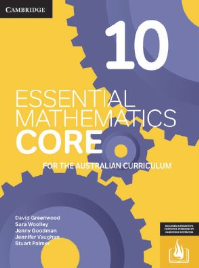 CAMBRIDGE ESSENTIAL MATHEMATICS CORE FOR THE AUSTRALIAN CURRICULUM YEAR 10 EBOOK 3E