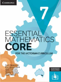 CAMBRIDGE ESSENTIAL MATHEMATICS CORE FOR THE VICTORIAN CURRICULUM YEAR 7 EBOOK