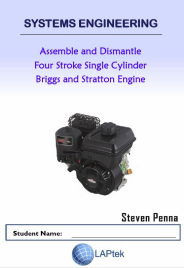 ASSEMBLE & DISMANTLE 4 STROKE SINGLE CYL BRIGGS & STRATTON ENGINE STUDENT WORKBOOK