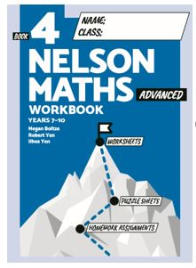 NELSON MATHS BOOK 4 ADVANCED STUDENT WORKBOOK
