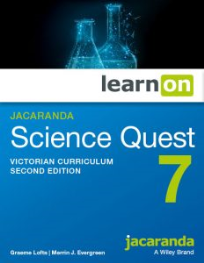 JACARANDA SCIENCE QUEST 7 FOR VICTORIAN CURRICULUM LEARNON 2E EBOOK