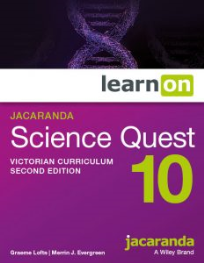 JACARANDA SCIENCE QUEST 10 FOR VICTORIAN CURRICULUM LEARNON EBOOK