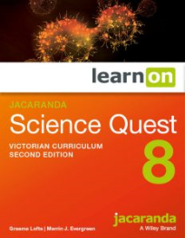 JACARANDA SCIENCE QUEST 8 FOR VICTORIAN CURRICULUM LEARNON 2E EBOOK