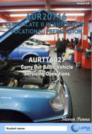CERT II IN AUTOMOTIVE VOCATIONAL PREPARATION: CARRY OUT BASIC VEHICLE SERVICING OPERATIONS EBOOK (Restrictions apply to eBook, read product description)