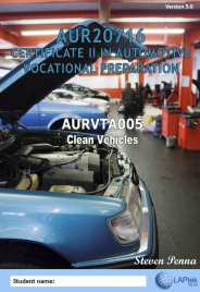 CERT II IN AUTOMOTIVE VOCATIONAL PREPARATION: CLEAN VEHICLES EBOOK (Restrictions apply to eBook, read product description)