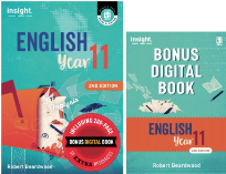 INSIGHT ENGLISH YEAR 11 STUDENT TEXTBOOK + EBOOK 2E (WITH BONUS DIGITAL BOOK)