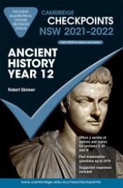 CAMBRIDGE CHECKPOINTS NSW ANCIENT HISTORY YEAR 12 2021-2022 + QUIZ ME MORE