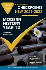 CAMBRIDGE CHECKPOINTS NSW MODERN HISTORY YEAR 12 2021-2022 + QUIZ ME MORE
