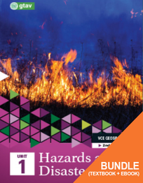 GEOGRAPHY VCE UNITS 1&2: HAZARDS AND DISASTERS UNIT 1 (GTAV) 2E BUNDLE
