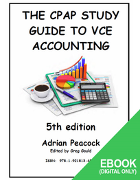CPAP STUDY GUIDE TO VCE ACCOUNTING 5E EBOOK (No printing or refunds. Check product description before purchasing)