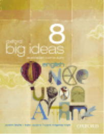 OXFORD BIG IDEAS ENGLISH 8 AC TEXTBOOK + OBOOK
