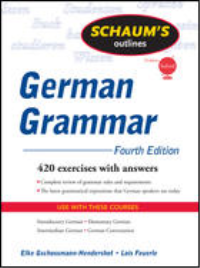 SCHAUM'S OUTLINE OF GERMAN GRAMMAR