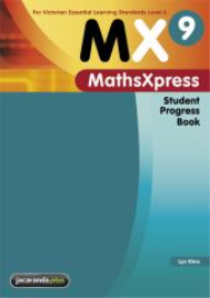 MATHS XPRESS 9 FOR VICTORIA STUDENT PROGRESS BOOK VELS LEVEL 6