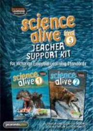 SCIENCE ALIVE TEACHER SUPPORT KIT LEVEL 5 - 40% OFF RRP WAS $135.95