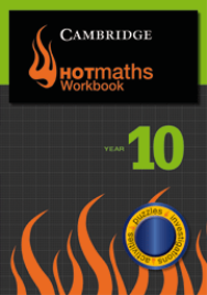 CAMBRIDGE HOTMATHS WORKBOOK 10
