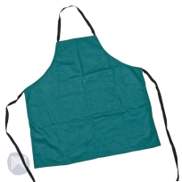 ART APRON GREEN WITH POCKETS