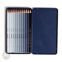 ROYMAC GREYS SKETCHING TIN 12 PENCIL SET 2H–8B