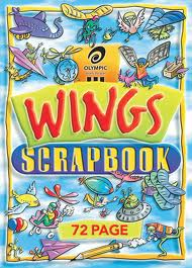 72 PAGE WINGS SCRAPBOOK