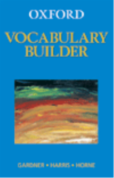 Buy Book - OXFORD VOCABULARY BUILDER | Lilydale Books