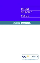 JOHN DONNE SELECTED POEMS: OCR EDITION