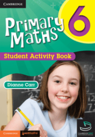 PRIMARY MATHS STUDENT ACTIVITY BOOK YEAR 6