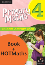 PRIMARY MATHS YEAR 4 - PRACTICE AND HOMEWORK BOOK + HOTMATHS BUNDLE