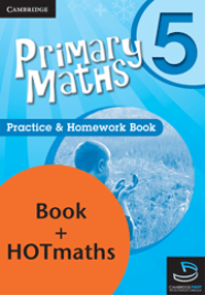 PRIMARY MATHS YEAR 5 - PRACTICE AND HOMEWORK BOOK + HOTMATHS BUNDLE