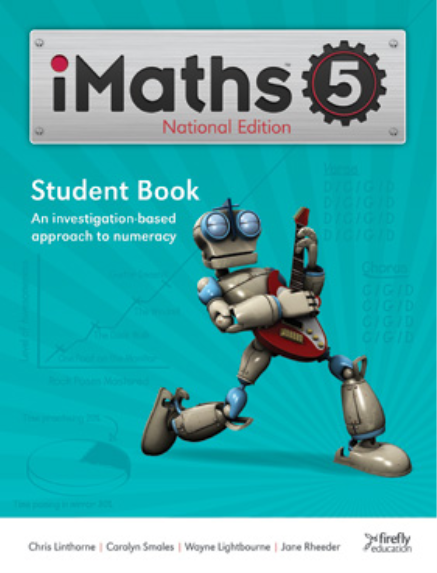iMATHS STUDENT BOOK 5