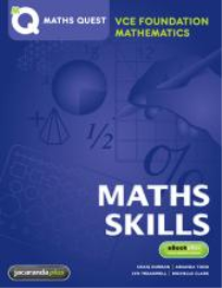 MATHS QUEST VCE FOUNDATION MATHS  (SET 8 WORKBOOKS)