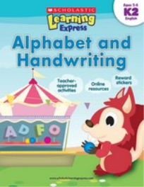 LEARNING EXPRESS - ALPHABET AND HANDWRITING: LEVEL K2
