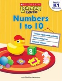 LEARNING EXPRESS - NUMBERS 1 TO 10: LEVEL K1