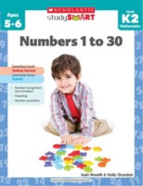 STUDY SMART - NUMBERS 1 TO 30: LEVEL K2
