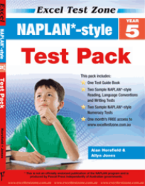 YEAR 5 NAPLAN* - STYLE TEST PACK