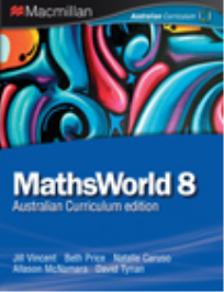MATHSWORLD 8 AUSTRALIAN CURRICULUM EDITION