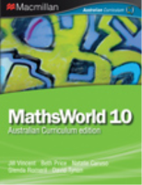 MATHSWORLD 10/10A AUSTRALIAN CURRICULUM EDITION